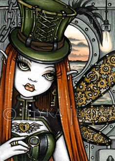 Hey, I found this really awesome Etsy listing at https://www.etsy.com/listing/161098461/dusty-steampunk-aviatrix-fairy-canvas