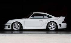 1998 RUF CTR2 Racing White Pegasus