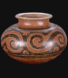 Origen: Panamá Cultura: Gran Coclé Pertenece a la zona cultural: América Central e Intermedia