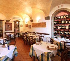 Trattoria Toscana; Cortona, Italy.  Hands down the best Pici al Fumo!