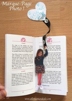 Billiges Vatertagsgeschenk DIY Marque-Page Photo d& (Idée Cadeau Facile pour la fête des Grand. Simple Gifts, Easy Gifts, Picture Gifts, Photo Gifts, Diy Marque Page, Diy For Kids, Crafts For Kids, Photo Bookmarks, Grandmother's Day