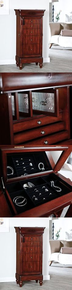 Other Jewelry Holders 168166: Belham Living Seville Antique Locking Jewelry Armoire -> BUY IT NOW ONLY: $369.99 on eBay!
