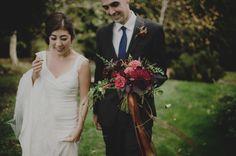Caitlin + Ryan / Fall Wedding at Fireseed on Whidbey Island Whidbey Island, Wedding Flowers, Wedding Dresses, Marsala, Fall Wedding, Wedding Events, October, Bouquet, Bear