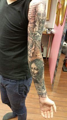 Sick Da Vinci sleeve