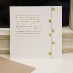 sprig wedding invitation by gooseberrymoon | notonthehighstreet.com