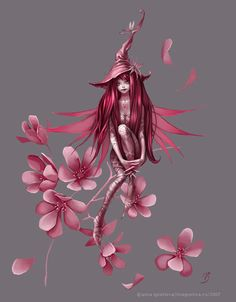January Fairy  - Google Image Result for http://magnetica.ru/gallery/wp-content/uploads/cherry.jpg