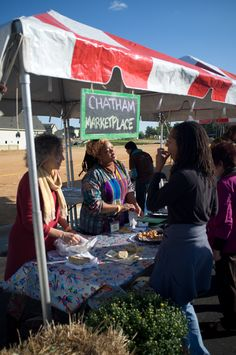 Chatham Marketplace doing what they do best & serving up awesome food at #PepperFest #ChathamCounty #NC #SupportLocal