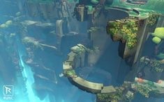 had a chance to talk with Rick Lesley from Runic Games and discuss the production of the amazing levels of Zelda-like project Hob. Environment Concept, Environment Design, Spyro The Dragon, Fantasy Inspiration, Fantasy Art, Castle, Exterior, Artwork, Projects
