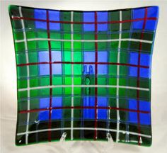 Commissioned art glass by Cassandra (Sandy) Beach