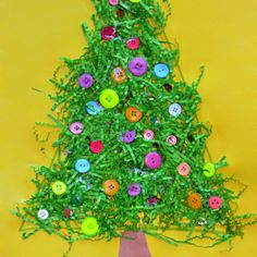 Fun Christmas Tree Craft for Kids