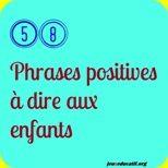 58 phrases positives à dire aux enfants – épanews