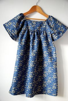 Search sewing on this blog for lots of lovely project.  Love Liberty fabric & Citronille pattern