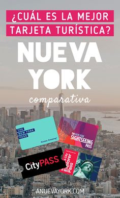 The best tourist card in New York - New York Travel, Travel Usa, The New York Pass, City Pass, Empire State Of Mind, Ny Ny, Worldwide Travel, Living In New York, Travel Information