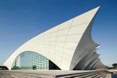 """Shanghai Oriental Sports Center"" photographed by Xiaobei Zuo."