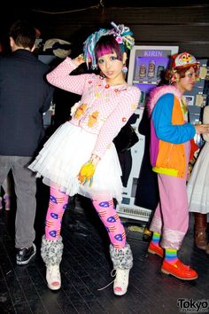 Harajuku Nightlife (I believe she is Haruka Kurebayashi)