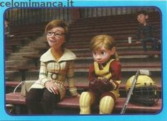 Inside Out: Fronte Figurina n. 150 -