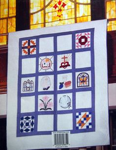 Inspirational Block Of The Month By Marian Shenk Quilt Pattern
