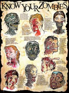 know your zombies