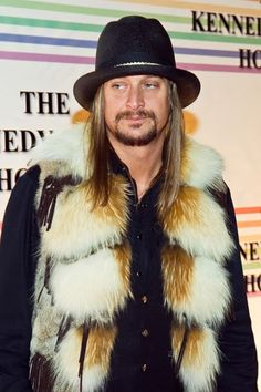 "Kid Rock told the UK's Daily Record about his thoughts on PETA, ""To throw paint on someone is just wrong. [Animal rights activists] do it to little Hollywood actresses who can't defend themselves. I'm willing the animal rights protesters to chuck red paint on me. My biggest extravagance is fur coats — I've got every kind of animal in my wardrobe."""