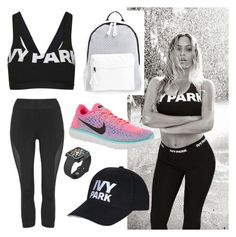 """ivy park fashion"" by talipayne on Polyvore featuring Topshop, NIKE, Poverty Flats and Speck"