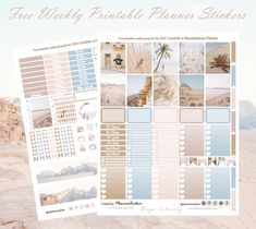 Printable Banner, Printable Planner Stickers, Free Printables, Unicorn Printables, Free Planner, Planner Pages, Happy Planner, Planner Ideas, Bullet Journal Writing