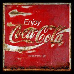 Old Coca Cola sign...