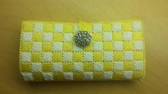 #Crochet/plastic canvas wallet clutch #TUTORIAL