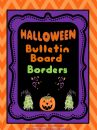 Bulletin Board Borders - Halloween Set 2 product from TerrisTeachingTreasure on TeachersNotebook.com