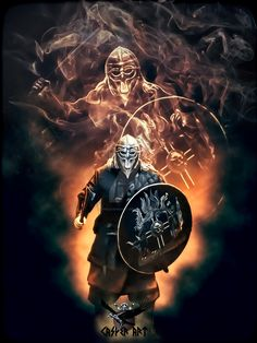 Viking Warrior by thecasperart.deviantart.com on @DeviantArt
