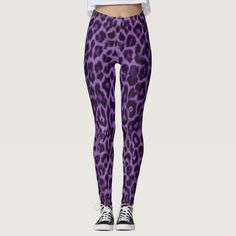 Add this purple print leggings to your spring fashion outfit for a better look this season. Casual leggings outfit summer street style fashion.| Winter outfits casual leggings street style| cute casual outfits for winter leggings street styles #affiliatelink #casualoutfit