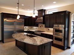 Seven Common Misconceptions About Maple Kitchen Raised Pannel Cabinets Direct Luxury Kitchen Design, Luxury Kitchens, Interior Design Kitchen, Home Kitchens, Home Decor Kitchen, Kitchen Living, Kitchen Furniture, Kitchen Ideas, Espresso Kitchen Cabinets