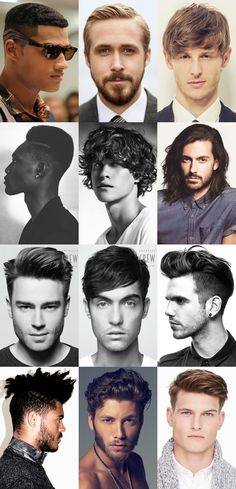 Men's Popular Hairstyles and Cuts