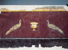 IC 181 Third style fresco from port of san palo Rome.