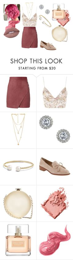 """Romantic"" by rebeca-bia on Polyvore featuring moda, Michelle Mason, WYLDR, Rebecca Minkoff, Miss Selfridge, David Yurman, Banana Republic, Chanel, Bobbi Brown Cosmetics e Givenchy"