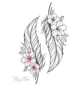 Grandpa and Grandma tattoos diy tattoo images - Grandpa and Grandma tattoos You are in the right place about Grandpa and Grandma - Tattoo Oma, Diy Tattoo, Clock Tattoo Design, Feather Tattoo Design, Indian Feather Tattoos, Feather Drawing, Flower Tattoo Designs, Pencil Art Drawings, Tattoo Drawings