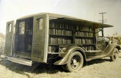 Long before Amazon was bringing books to your doorstep, there was the Bookmobile! A travelling library provided books to villages and city suburbs that had no library buildings. The bookmobile went from a simple horse-drawn cart in the 19th century to large customised vehicles that became part of American culture and reached their height of popularity in the mid-twentieth century.