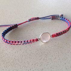 Items similar to Rose quartz macrame bracelet, semiprecious faceted bezel on Etsy Macrame Bracelets, Rose Quartz, Personalized Items, Trending Outfits, Unique Jewelry, Handmade Gifts, Vintage, Etsy, Kid Craft Gifts