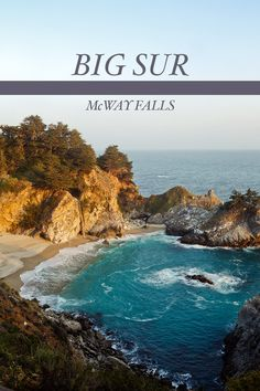 West Coast Roadtrip to Mcway Falls Big Sur California. Repinned by http://www.pacific-coast-highway-travel.com/