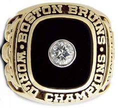 Rings That Bling - Bruins 1970 Stanley Cup Ring Stanley Cup Rings, Hockey Games, Ice Hockey, Hockey Logos, Bobby Orr, Boston Bruins Hockey, Ring Of Honor, Boston Strong, Boston Sports