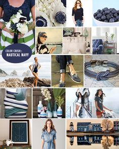 Come Sail Away with Nautical Navy featuring items from @west elm, #jcrew, #toryburch & more. #heycaryl