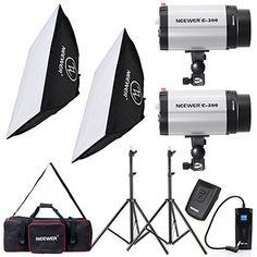 Neewer® 600W Photo Studio Monolight Strobe Flash Light Softbox Lighting Kit with Carrying Bag for Video Shooting,Location and Portrait Photography(300DI) Neewer http://www.amazon.com/dp/B017XFX1ZU/ref=cm_sw_r_pi_dp_ZXWbxb191EKKG