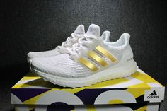 91e40b2605a 2017 adidas Ultra Boost 3.0 White Gold BA7680 Men s Shoes For Sale – New  Yeezy Boost