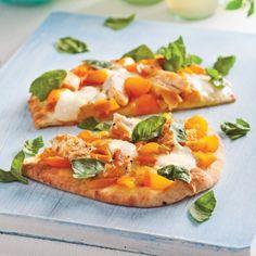 Pizza à l'indienne - Soupers de semaine - Recettes 5-15 - Recettes express 5/15 - Pratico Pratique