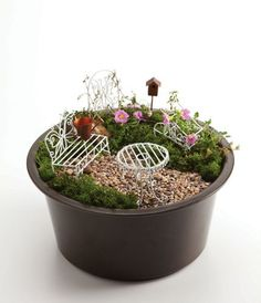 Fairy Mini Garden Furniture by Outdoor Décor, http://www.amazon.com/dp/B0071MEF24/ref=cm_sw_r_pi_dp_XZXjqb0EQ0DP4