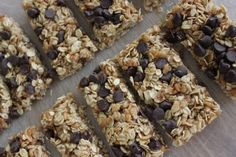 lots of granola bar recipes