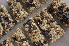 lots of granola bar recipes
