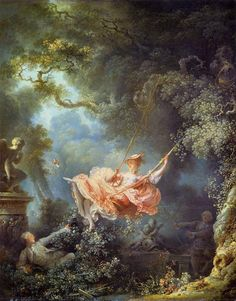 """The Swing"" by Jean-Honoré Fragonard, c.1767"