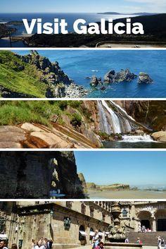 When you Visit Galicia some places for you to experience, Playa de Catedrales, el banco mas bonito del mundo, Finisterre, Santiago de…