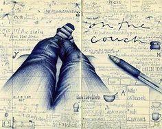 Andrea Joseph sketch book page