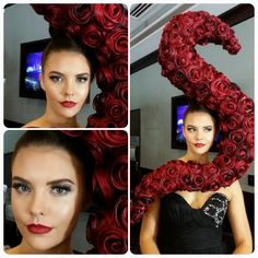 Hair Expo 2014. Makeup by Graduate Giant Tzakis